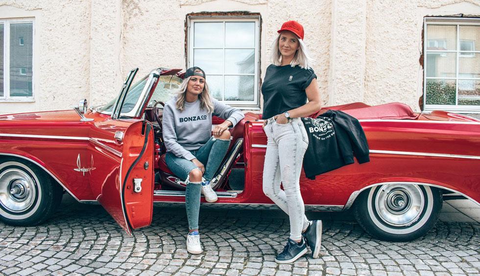 Bonza Co. streetwear brand Hanna Sara owners